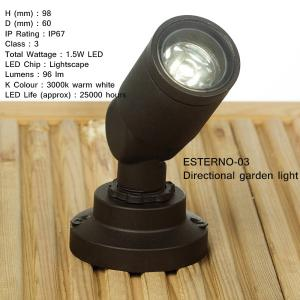 EL-ESTERNO Range of LED Outdoor fittings