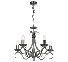 Endon 2030 antique silver range of ceiling and wall lighting