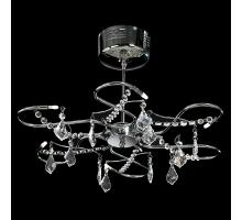 Endon 214-6CH Polished Chrome 6 light ceiling fitting  in Witney lighting Showroom