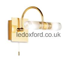 Endon 347 IP44 Double Lamp wall or mirror light