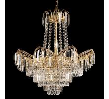 Endon 96819-GO Otttello Pendant Light Gold with clear beads