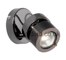 Endon Benno 1BC Black Chrome Single Spotlight
