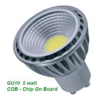 LED 5 Watt GU10 COB Saver Dimmable and Non Dimmable
